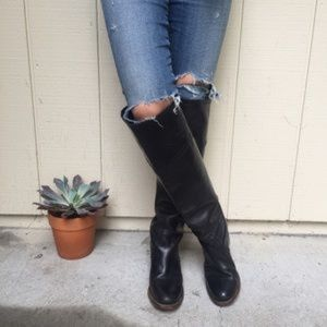 Frye Over the Knee Leather boots